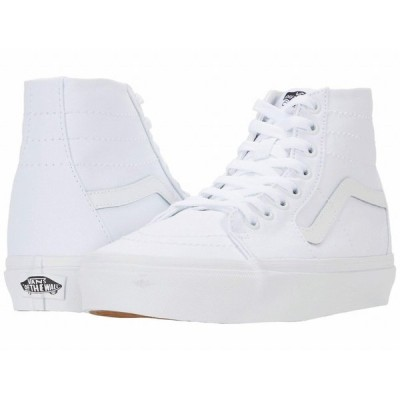 (取寄)Vans(バンズ) スニーカー スケート—ハイ Tapered ユニセックス メンズ レディースVans Unisex Sk8-Hi(Canvas) True White