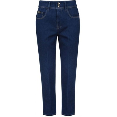 ヴェルサーチ VERSACE JEANS COUTURE レディース ジーンズ・デニム ボトムス・パンツ Boyfriend Jeans Indigo