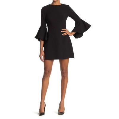 ライクリー レディース ワンピース トップス Mallory Bell Sleeve Mini Dress BLK