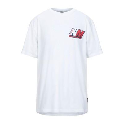 ナパピリ NAPAPIJRI T シャツ ホワイト S コットン 100% T シャツ