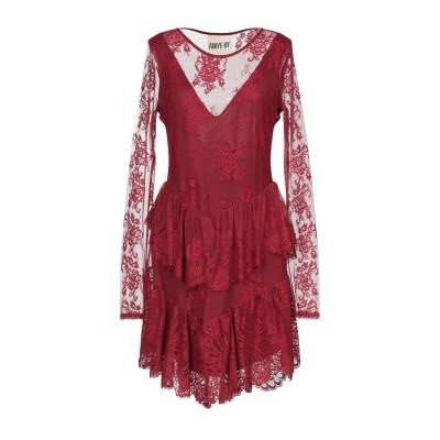 アニヤバイ ANIYE BY ミニワンピース&ドレス レッド XS ナイロン 54% / コットン 46% ミニワンピース&ドレス