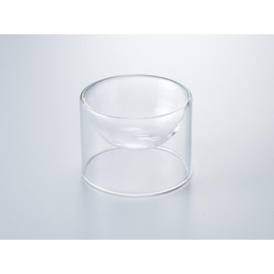 洋食器 モダン ボウル/ APグラス 71×52mm /ガラス おしゃれ 珍味 業務用 レストラン