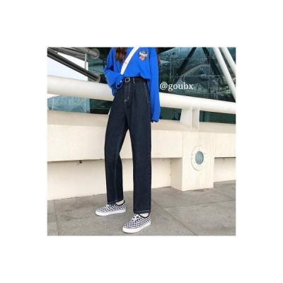 【送料無料】年 秋 韓国風 パンツ ハイウエストストレートパンツ 女 何でも似合う | 346770_A63726-9957061