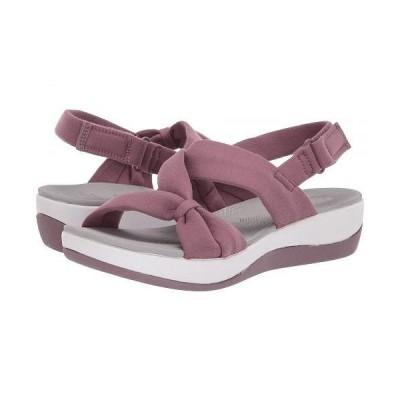 Clarks クラークス レディース 女性用 シューズ 靴 サンダル Arla Primrose - Purple Textile