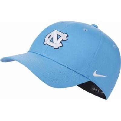 ナイキ メンズ 帽子 アクセサリー Nike Men's North Carolina Tar Heels Carolina Blue L91 Adjustable Hat
