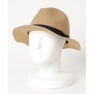 JEANS MATE / 【FORT POINT】ウォッシャブルブレードハット  中折れハット 軽量 手洗い可能 汗止めテープに抗菌防臭加工 WOMEN 帽子 > ハット