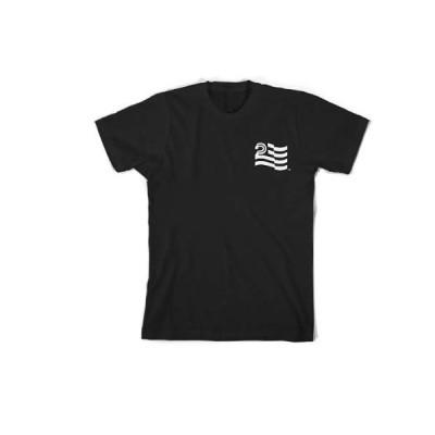 POLITIC STANDARD FLAG S/S TEE カラー:BLACK 【STREET】【スケートボード】【SKATEBOARD】