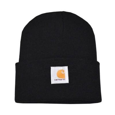 CARHARTT カーハート ニットキャップ ニット帽 ブラック ACRYLIC WATCH HAT a18