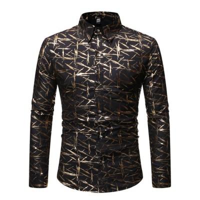 アロハシャツ カジュアルシャツ 長袖 前開き メンズ ハワイ風 春秋服 ビーチシャツ プリントシャツ おしゃれ かわいい 通気速乾 超軽量