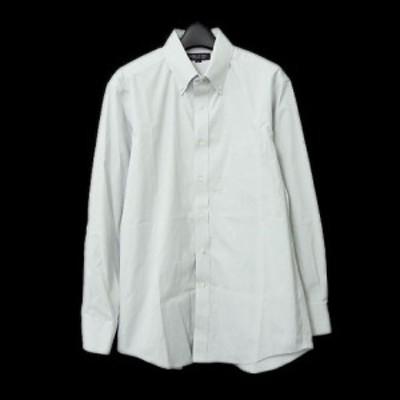 SUPER NON IRON UNIQLO「L」Button-down shirt スーパー ノンアイロン ユニクロ ボタンダウンシャツ (長袖) 066323【中古】