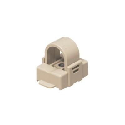 未来工業 PF・VE兼用サドル 磁石タイプ 適合管:PF管・VE管16 ベージュ SPFM-16J