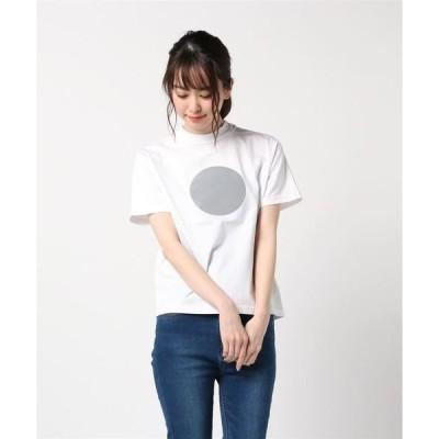 tシャツ Tシャツ [ L&HARMONY/エルアンドハーモニー ] ハイクルーネックプリントTシャツ●