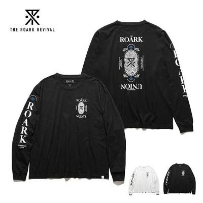 ロアーク ロンT 長袖 Tシャツ メンズ ROARK RLTJ700 R.E.U L/S TEE  [210228]