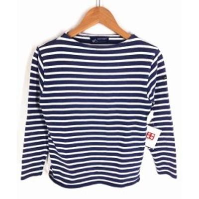 セントジェームス SAINT JAMES クルーネックTシャツ サイズXXS レディース 【中古】【ブランド古着バズストア】