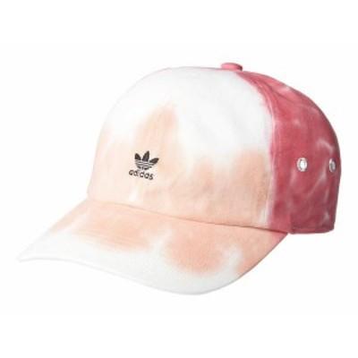 アディダス レディース 帽子 アクセサリー Originals Mini Logo Relaxed Cap Pink/Color Wash