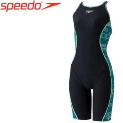 【メール便送料無料】スピード 水泳 Speedo Glitch TurnS Kneeskin スピードグリッチターンズニースキン 水着 レディース STW12101-GR
