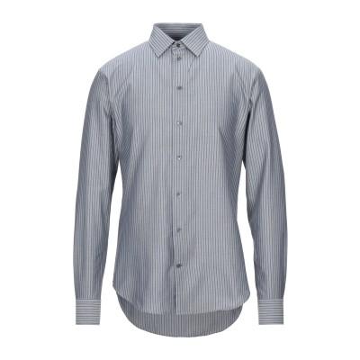エンポリオ アルマーニ EMPORIO ARMANI シャツ グレー 38 コットン 100% シャツ