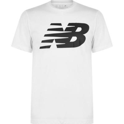 ニューバランス New Balance メンズ Tシャツ ロゴTシャツ トップス Logo Graphic QT T Shirt White