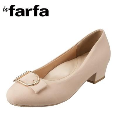 ラ・ファーファ シューズ la farfa SHOES lafarfa-55 レディース | カジュアルパンプス | 大きいサイズ 対応 | バックル | ベージュ