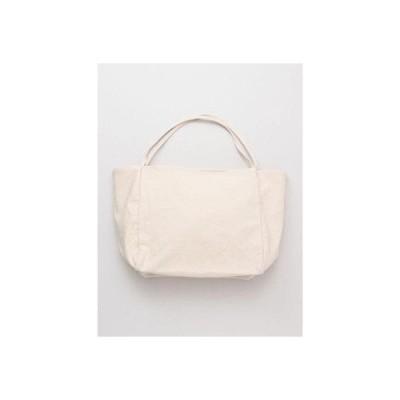 【カヤ】シンプルトートバッグ ホワイト