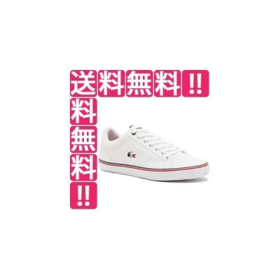 ラコステ LACOSTE メンズ スニーカー LEROND 218 1 QSP [サイズ:26.5cm] [カラー:ホワイト×ホワイト] #CAM0148-21G