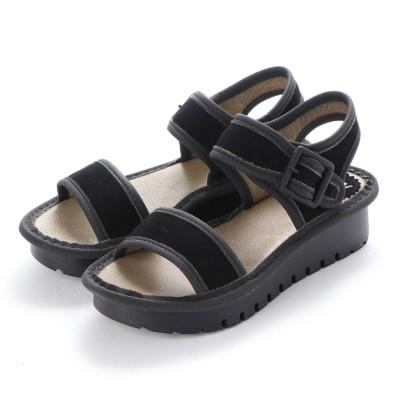 ヨーロッパコンフォートシューズ EU Comfort Shoes FLYLONDON サンダル(500.603) (ブラック)