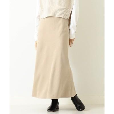 スカート BEAMS LIGHTS / フェイク スエード マーメイド スカート