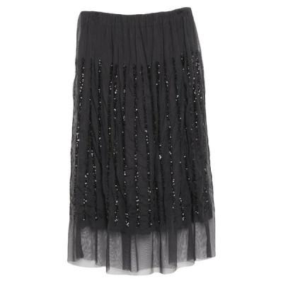 PRINCESS GOES HOLLYWOOD 七分丈スカート  レディースファッション  ボトムス  スカート  ロング、マキシ丈スカート ブラック