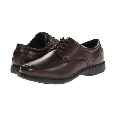 Nunn Bush ナンブッシュ メンズ 男性用 シューズ 靴 オックスフォード 紳士靴 通勤靴 Bourbon Street Moc Toe Oxford with KORE Slip Resistant Walking