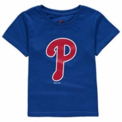 Outerstuff アウタースタッフ スポーツ用品  Philadelphia Phillies Toddler Royal Primary Logo T-Shirt