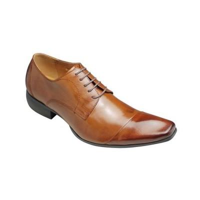 【Bump N' GRIND(バンプ アンド グラインド)】有機的なデザインが魅力の牛革ドレスシューズ(レース)・BG4000(ブラウン)/メンズ 靴