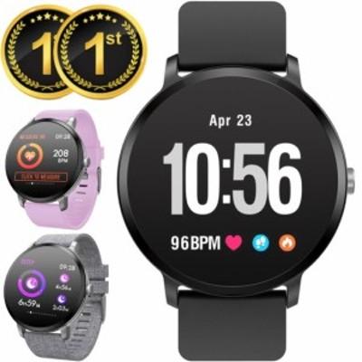 【令和モデル】 スマートウォッチ フルタッチ iphone 対応 android 血圧 レディース メンズ 防水 日本語 LINE対応 腕時計 スポーツ 防水