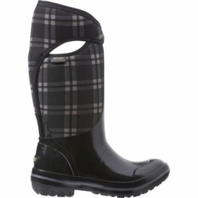 ボグス ウインターシューズ Plimsoll Plaid Tall Boot - Womens