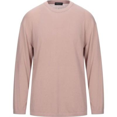 ロベルトコリーナ ROBERTO COLLINA メンズ ニット・セーター トップス Sweater Pink