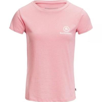 バックカントリー Backcountry レディース Tシャツ トップス Short - Sleeve T - Shirt Rose/White