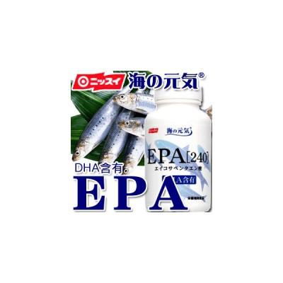 【ニッスイ】サプリメント 海の元気EPA(240粒) 【EPA】【DHA】【サプリ】【カプセル】【青魚】【サラサラ成分】