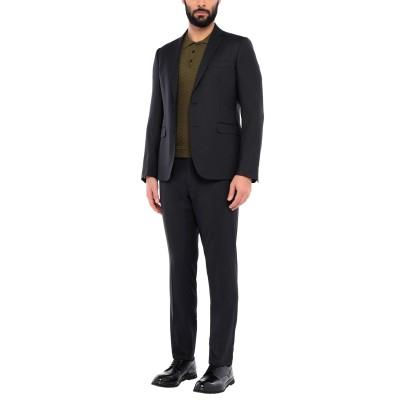 メッサジェリエ MESSAGERIE スーツ ブラック 54 ポリエステル 54% / ウール 44% / ポリウレタン 2% スーツ