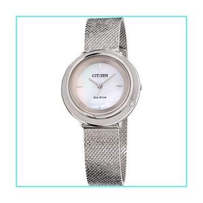 【新品】Citizen Women's Case Quartz Analog Watch EM0640-58D(並行輸入品)