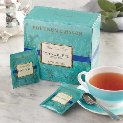 【送料無料】フォートナム&メイソン 英国 Fortnum&Mason ロイヤルブレンド 50ティーバッグ 紅茶 Royal Blend [並行輸入品]