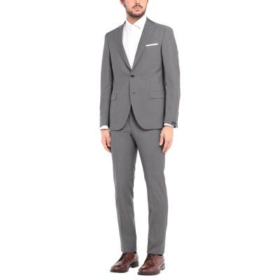 パオローニ PAOLONI スーツ 鉛色 50 ウール 100% スーツ