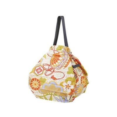 MARNA Shupatto Eco Easy Foldable Compact Bag Japanese Decoration Ball Design M【並行輸入品】