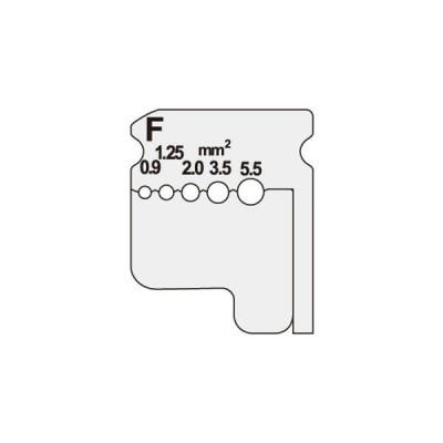 【法人限定】DIV-095KP (DIV095KP) ジェフコム デンサン DENSAN  ワイヤーストリッパー(IV線用替刃)