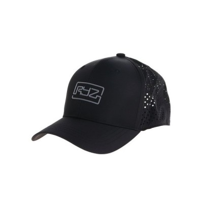 ライズ(RYZ) レーザーカットメッシュキャップ 897R0ST6159 BLK (メンズ)