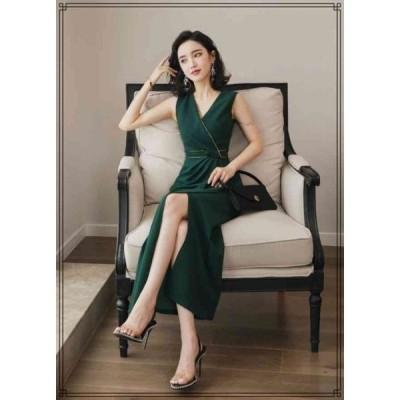 ドレス ワンピース ロング スカート イブニングドレス
