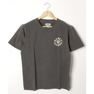 tシャツ Tシャツ ATS0460 / 2020NEW  / BANKS(バンクス)メンズ 胸ブランドロゴプリント バックプリント ユニセックスサイジ