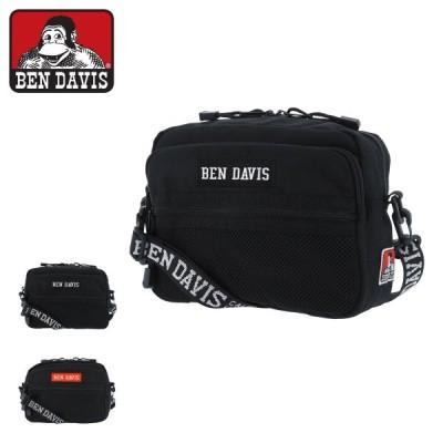 ベンデイビス ショルダーバッグ ボックスロゴテープショルダー メンズ レディース  BDW-9268 BEN DAVIS | 横型 斜めがけ
