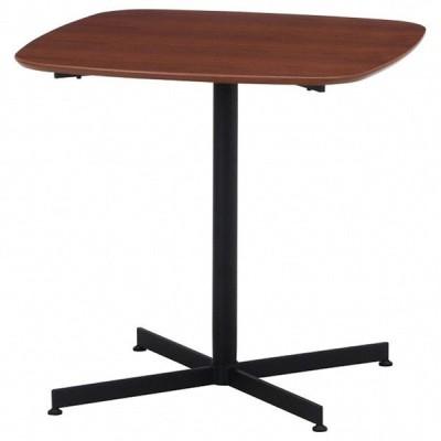 カフェテーブル レグナ 75cm×75cm ブラウン 1台
