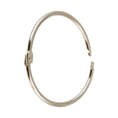 School Smart 036981 Steel Loose Leaf Ring44; 2 In. - Pack 50