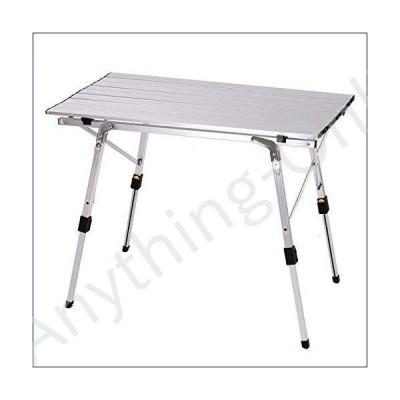 ★新品★Zcm Folding Camping Table Outdoor Folding Table Chair Camping Aluminium Alloy Picnic Table Waterproof Durable Folding Table Desk for 90536