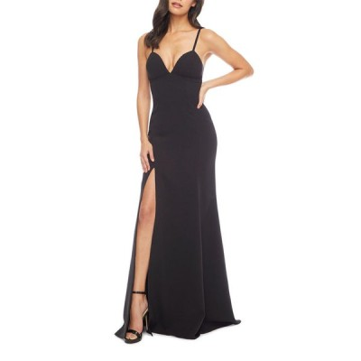 ドレスザポプレーション レディース ワンピース トップス Alejandra Sweetheart Sleeveless Long Dress w/ Slit